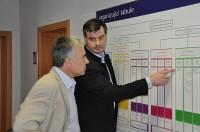 Pavel Ranc konzultuje u klienta